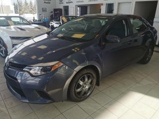 Used 2015 Toyota Corolla CE / AIR CLIMATISÉ / CRUISE / VITRE ÉLEC for sale in Sherbrooke, QC