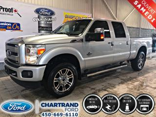 Used 2016 Ford F-250 4 RM, Cabine multiplaces 156 po, LARIAT for sale in Laval, QC
