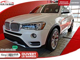 Used 2017 BMW X3 XDRIVE 281i *X3*AWD*CUIR*TOIT*CAMÉRA* for sale in Québec, QC