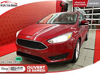 Used 2016 Ford Focus *SE*CAMÉRA* SIÈGES / VOLANT CHAUFF* AIR* for sale in Québec, QC