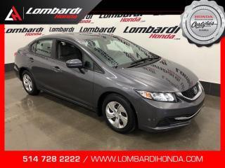 Used 2015 Honda Civic LX|AUTOMATIQUE|CAM| for sale in Montréal, QC