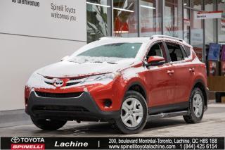 Used 2015 Toyota RAV4 LE AWD SIÈGES CHAUFFANT! BLUETOOTH! RÉGULATEUR DE VITESSE! BAS KILOMÉTRAGE! SUPER PRIX! FAITES VITE! for sale in Lachine, QC