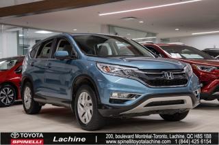 Used 2016 Honda CR-V EX SIÈGES CHAUFFANT! BLUETOOTH! TOIT OUVRANT! UN PROPRIÉTAIRE! BAS KILOMÉTRAGE! SUPER PRIX! FAITES VITE for sale in Lachine, QC