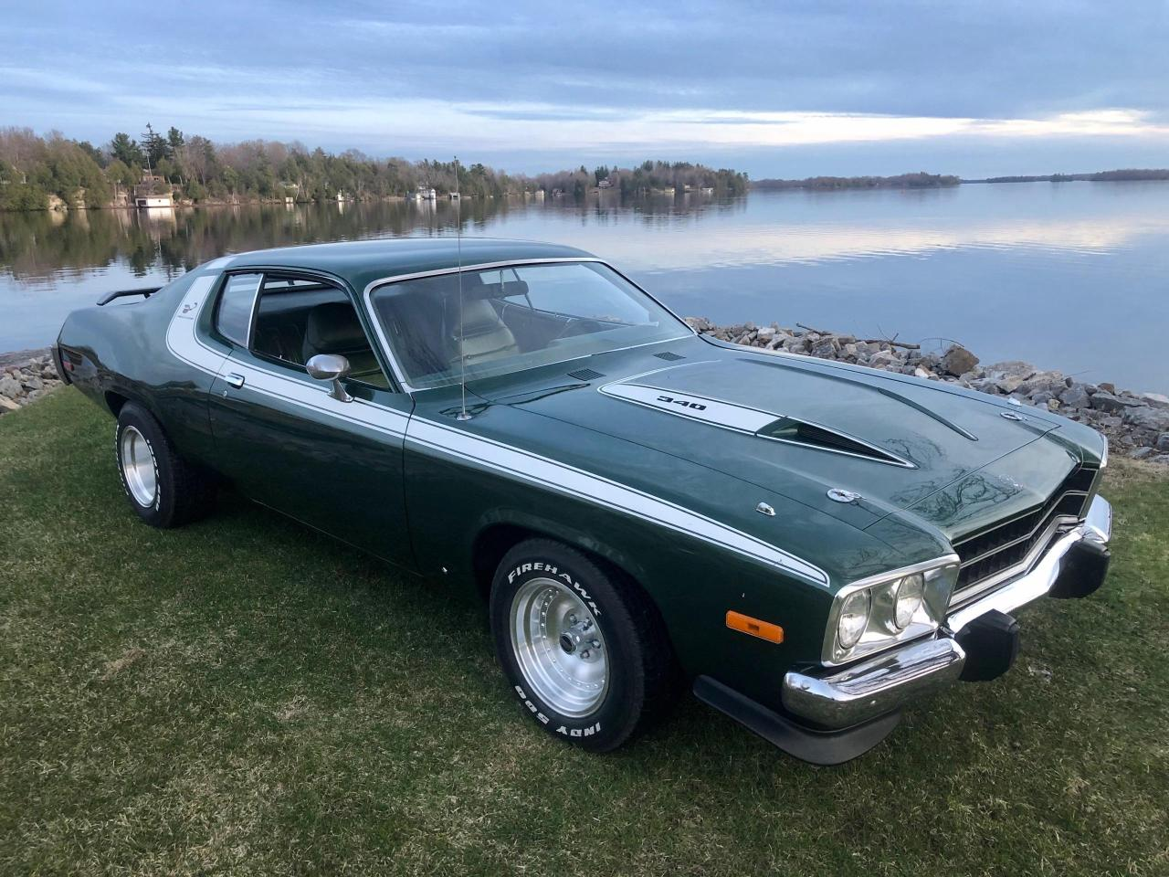 1973 Plymouth Road Runner 340 With 4 Speed Manual
