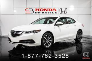 Used 2016 Acura TLX V6 + CUIR + TOIT + CAMERA + WOW! for sale in St-Basile-le-Grand, QC