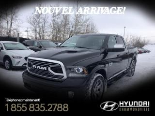 Used 2018 RAM 1500 LIMITED TUNGSTEN + 5.7 HEMI + GARANTIE + for sale in Drummondville, QC