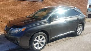 Used 2010 Lexus RX 350 NAVI-BACKUP CAM- LEATHER- SOONROOF for sale in Oakville, ON