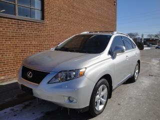 Used 2011 Lexus RX 350 NO ACCIDENTS/LEATHER/SUNROOF for sale in Oakville, ON