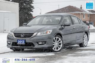 Used 2013 Honda Accord Touring|Leather|Navigation|Htd Seats|Clean Carfax for sale in Bolton, ON