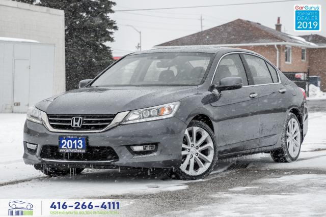 2013 Honda Accord Touring|Leather|Navigation|Htd Seats|Clean Carfax