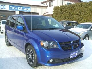 Used 2019 Dodge Grand Caravan GT, Leather ,DVD, Nav. for sale in Beaverton, ON
