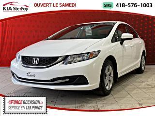 Used 2014 Honda Civic LX *4 portes *CVT *A/C for sale in Québec, QC