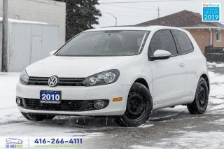 Used 2010 Volkswagen Golf Trendline|Low KM|Power Sunroof|Keyless Entry|PW|PL for sale in Bolton, ON