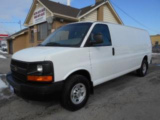 Used 2011 Chevrolet Express 3500 Extended Cargo 4.8L V8 Divider 172,000KMs for sale in Rexdale, ON