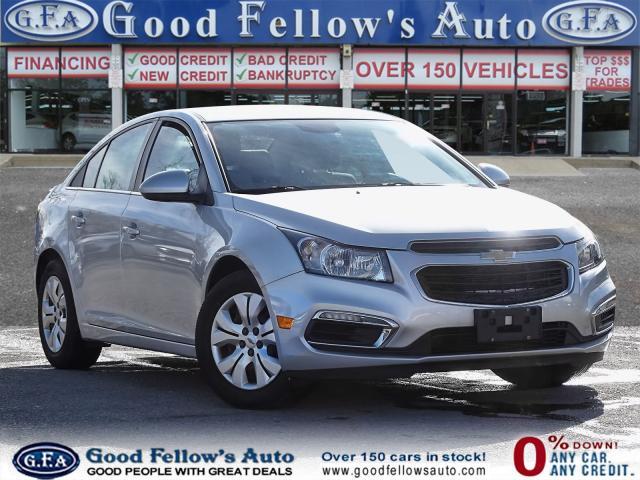 2016 Chevrolet Cruze LT MODEL, REARVIEW CAMERA, KETLESS ENTRY
