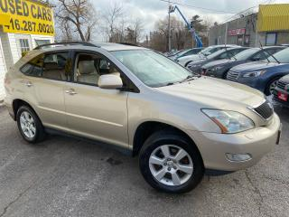Used 2008 Lexus RX 350 NAVI/ CAM/ DVD/ LEATHER/ SUNROOF/ ALLOYS/ TINTED! for sale in Scarborough, ON