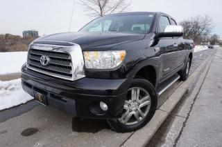 Used 2009 Toyota Tundra LIMITED / EXCELLENT SHAPE / DOUBLE CAB / CERTIFIED for sale in Etobicoke, ON
