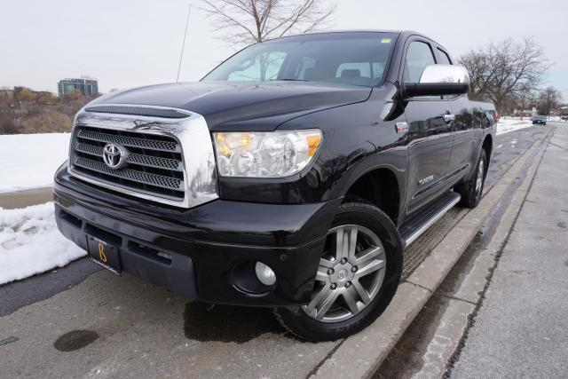 2009 Toyota Tundra LIMITED / EXCELLENT SHAPE / DOUBLE CAB / CERTIFIED