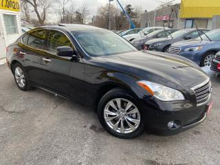 Used 2012 Infiniti M37x M37x/ AWD/ NAVI/ CAM/ LEATHER/ SUNROOF/ ALLOYS! for sale in Scarborough, ON