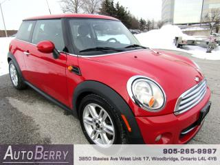 Used 2012 MINI Cooper HARDTOP - 6 SPEED for sale in Woodbridge, ON