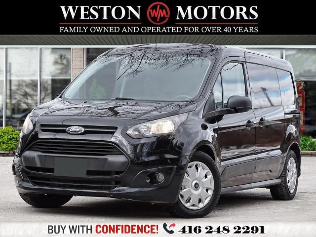 2014 Ford Transit Connect XLT*REV CAM*TOOL BOX*DUAL DOORS!!*