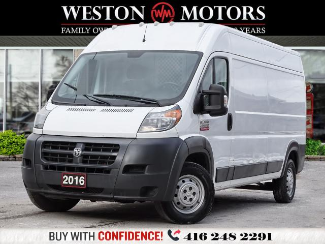 2016 Dodge ProMaster 2500 2500*HIGHROOF*CAPTAIN CHAIRS*