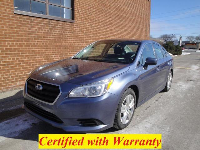 2017 Subaru Legacy SAFETY /WARRANTY/BLUETOOTH