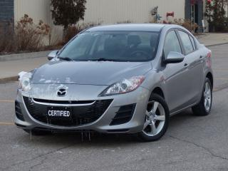 Used 2010 Mazda MAZDA3 ALLOY RIMS,NO-ACCIDENTS,LOW KMS,MAZDA SERVICED,LOA for sale in Mississauga, ON