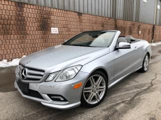 Used 2011 Mercedes-Benz E-Class ***SOLD*** for sale in Toronto, ON