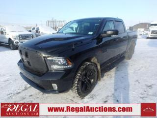 Used 2018 RAM 1500 Sport Crew CAB SWB 4WD 3.0L for sale in Calgary, AB