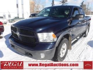 Used 2013 RAM 1500 Outdoorsman Crew CAB SWB 4WD 5.7L for sale in Calgary, AB