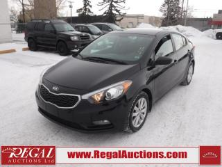 Used 2016 Kia Forte LX Plus 4D Sedan AT 1.8L for sale in Calgary, AB