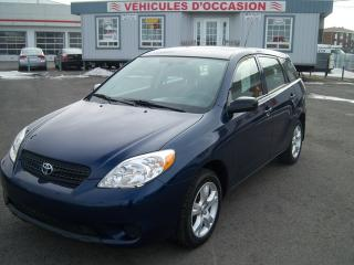 Used 2006 Toyota Matrix XR for sale in St-Jean-Sur-Le-Richelieu, QC