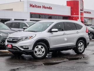 Used 2016 Honda CR-V TOURING|SERVICE HISTORY ON FILE for sale in Burlington, ON