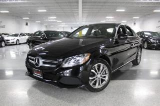 Used 2016 Mercedes-Benz C-Class C300 4MATIC I NAVIGATION I REAR CAM I LEATHER I SUNROOF for sale in Mississauga, ON