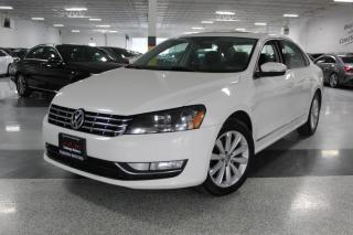 Used 2013 Volkswagen Passat TDI I NO ACCIDENTS I LEATHER SUNROOF I HEATED SEATS I BT for sale in Mississauga, ON