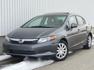 Used 2012 Honda Civic 4dr Auto EX for sale in Mississauga, ON