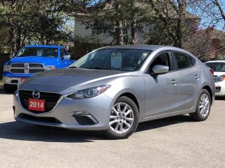 Used 2014 Mazda MAZDA3 GS-SKY |6 SPEED |ALLOYS |HEATED SEATS |BACKUP CAM for sale in Stoney Creek, ON