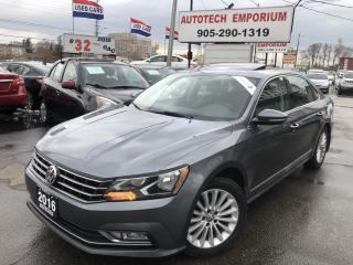 Used 2016 Volkswagen Passat Comfortline Sunroof/Leather/Navigation/Carplay for sale in Mississauga, ON