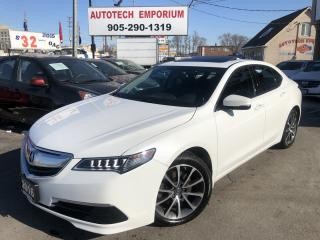 Used 2016 Acura TLX SH-AWD Leather/Sunroof/Bluetooth&GPS* for sale in Mississauga, ON
