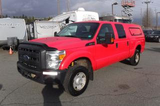 Used 2013 Ford F-250 SD XL Crew Cab Short Box 4WD with Canopy for sale in Burnaby, BC