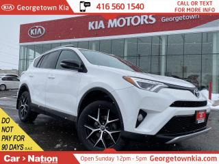 Used 2016 Toyota RAV4 SE AWD | LEATHER | ROOF | BU CAM | ONLY 21,979KMS for sale in Georgetown, ON