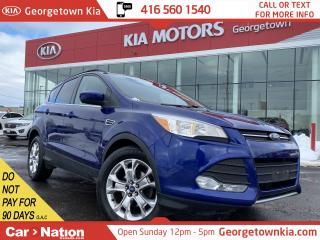 Used 2013 Ford Escape SE | CHROME WHEELS | NAVI | PWR GATE|B/T|HTD SEATS for sale in Georgetown, ON