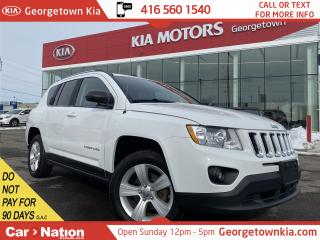 Used 2012 Jeep Compass NORTH | SUNROOF | TOUCH SCREEN | HEATED SEATS for sale in Georgetown, ON