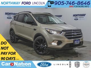 Used 2018 Ford Escape SE | HTD SEATS | BACK UP CAM | SE SPORT PKG | for sale in Brantford, ON