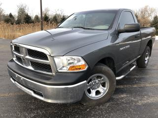 Used 2012 RAM 1500 ST REG CAB  2WD for sale in Cayuga, ON