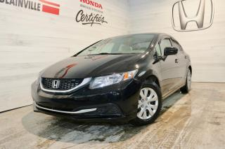 Used 2014 Honda Civic LX 4 PORTES for sale in Blainville, QC