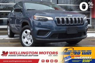 New 2020 Jeep Cherokee Sport for sale in Guelph, ON