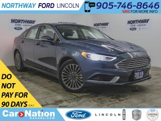 Used 2018 Ford Fusion SE | NAV | AWD | LEATHER | REMOTE START | for sale in Brantford, ON