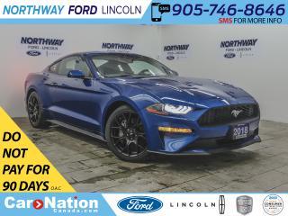 Used 2018 Ford Mustang ECOBOOST | NAV | PUSH START | PERFORMANCE PKG | for sale in Brantford, ON